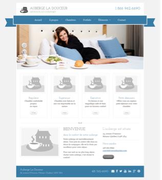 Site Web Douce Auberge