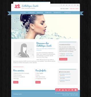 Site Web Pur Esthétique