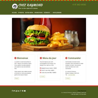 Site Web Salon d'esthétique