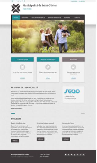 Site Web Monde Municipal