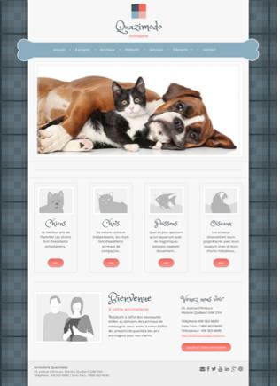 Site Web Joyeuse Animalerie