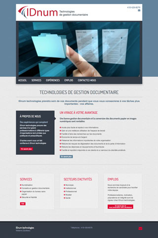 IDnum - Technologie de gestion documentaire